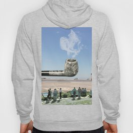atmosphere · smoke the future in the pipe Hoody