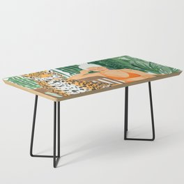 Jungle Vacay #painting #illustration Coffee Table