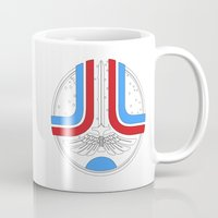 league Mugs featuring Star League by Adrian Sipe