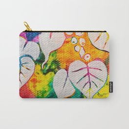 Leaves on the World Tree: Bihari Peepal Carry-All Pouch