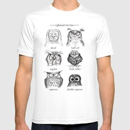 Caffeinated Owls T-shirt