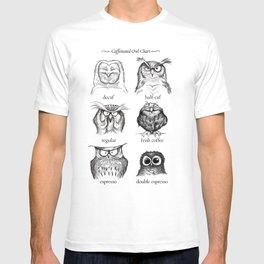 Caffeinated Owls T-shirt