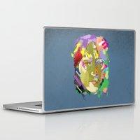 john snow Laptop & iPad Skins featuring John by tibur
