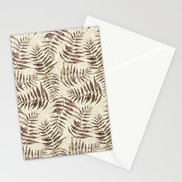 Layered Palm Leaves Stationery Cards