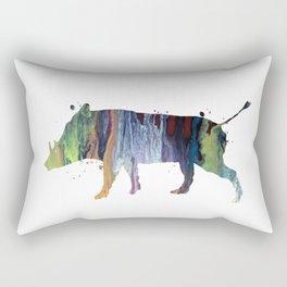Warthog Rectangular Pillow