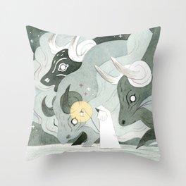 Dreambringer Throw Pillow