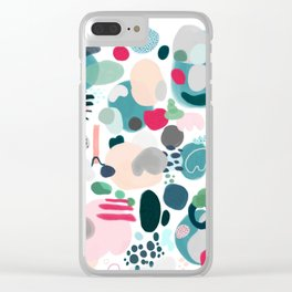 Inner world Clear iPhone Case