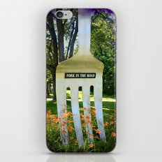 Fork in the Road iPhone & iPod Skin
