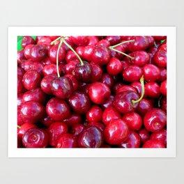 Cherry Cherry Lady Art Print