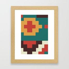 UFOlk 2 Framed Art Print