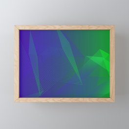 Electrical experience Framed Mini Art Print