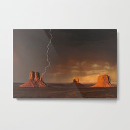 Monument Valley, Utah No. 3 Metal Print