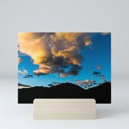Sunrise Rocky Mountains Colorado, United States Mini Art Print