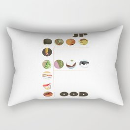 Japanese Food Bubble Zoom Rectangular Pillow