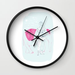MONTREAL LEGENDS - LOUIS CYR Wall Clock