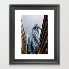 The Gherkin London Framed Art Print