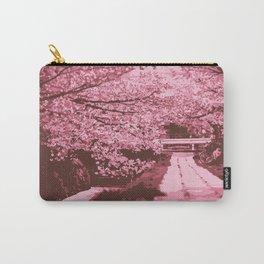 Sakura Monochrome Carry-All Pouch