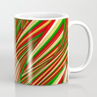 xmas Mugs featuring Lov Xmas by Danny Ivan
