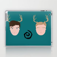 Rust & Marty from True Detective Laptop & iPad Skin