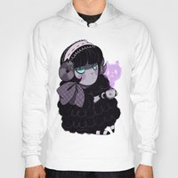 goth Hoodies featuring Goth Tea by Princess Misery