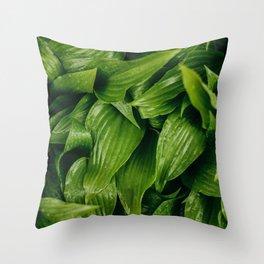 Some Leafy Stuff Throw Pillow