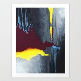 Inside Crystal Mountain Art Print