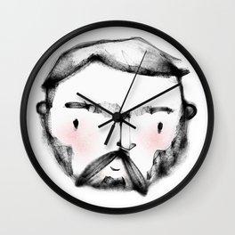 Geometric Macho Man Wall Clock