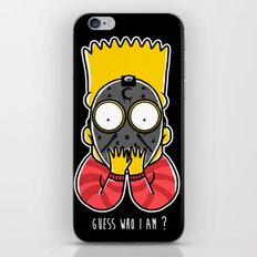 Guess Who Am I iPhone & iPod Skin