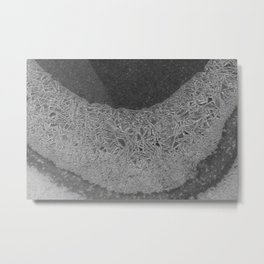 Sleet Metal Print