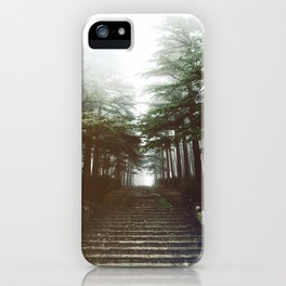 I will follow you into the dark. iPhone Case