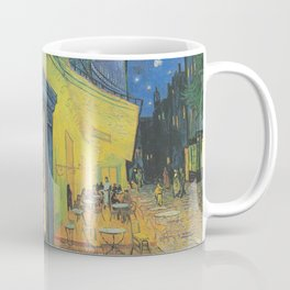 Cafe Terrace at Night by Vincent van Gogh Coffee Mug