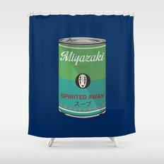 Spirited Away - Miyazaki - Special Soup Series  Shower Curtain