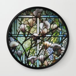 Louis Comfort Tiffany - Decorative stained glass 8. Wall Clock