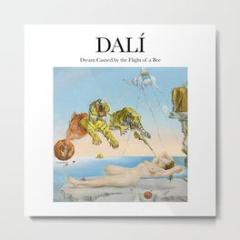 Dalí - Dream Caused by the Flight of a Bee Metal Print