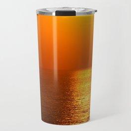 Fire Ball Sun Travel Mug