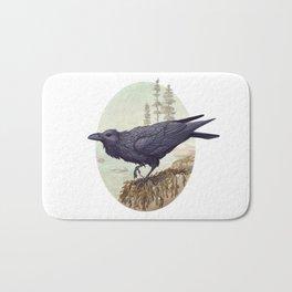 Raven of the North Atlantic Bath Mat