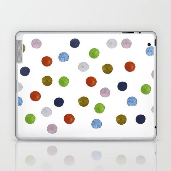 Pinpoint Dots Laptop & iPad Skin