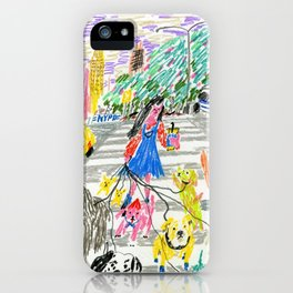 Dogs of New York City iPhone Case