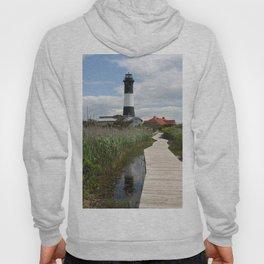 Fire Island Light With Reflection - Long Island Hoody
