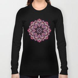 FLORAL MANDALA Long Sleeve T-shirt