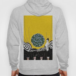 """Art Deco Design """"Selection of the Heart"""" Hoody"""