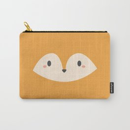 Kawaii Cute Red Fox Carry-All Pouch