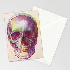 acid calavera Stationery Cards