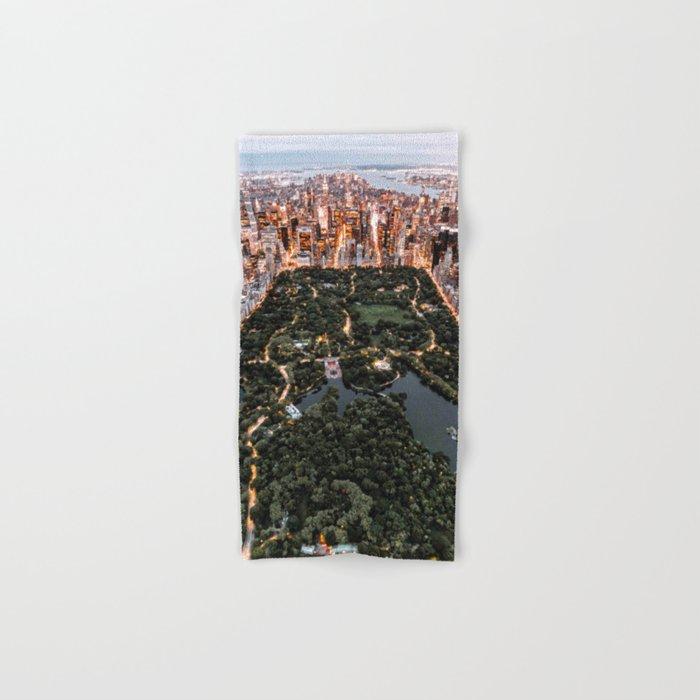 Central Park New York Hand & Bath Towel