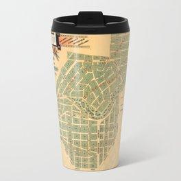 Map Of Inglewood 1885 Travel Mug