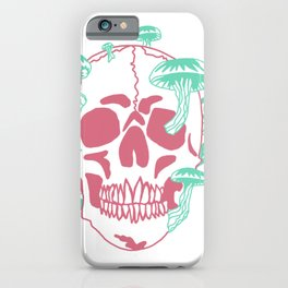 Mushroom head iPhone Case