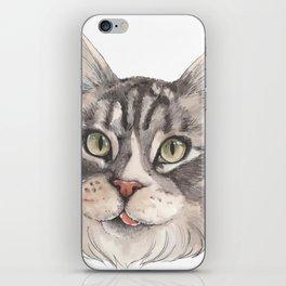 Normie the Cat - artist Ellie Hoult iPhone Skin