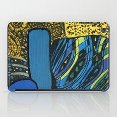 town by the ocean iPad Case