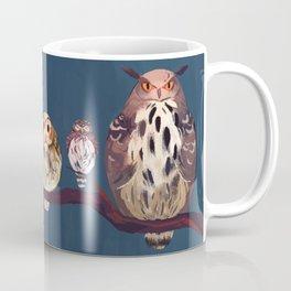Owls on a stick Coffee Mug