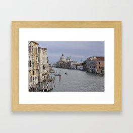 The Grand Canal Framed Art Print